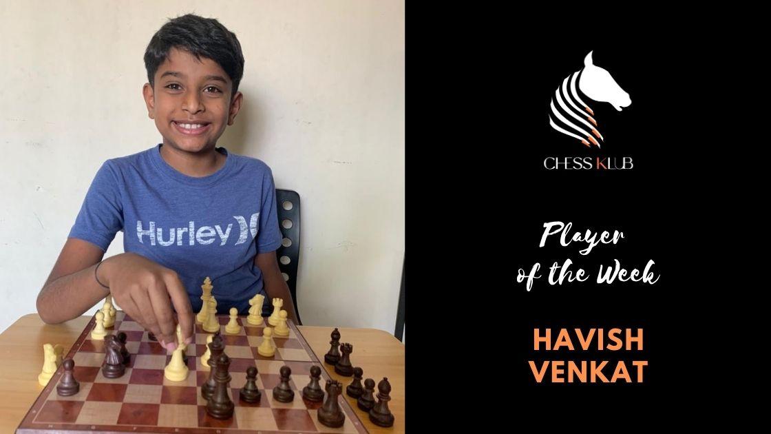Havish Venkat - Champion of the Week
